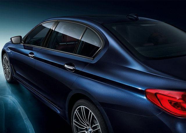 全新一代BMW 5系Li上海車展全球首發
