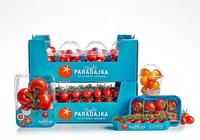 高檔的農產品包裝設計,番茄包裝欣賞