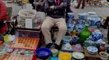河北小夥賣瓷器,不賣假貨賣真品,實在經營也能發家