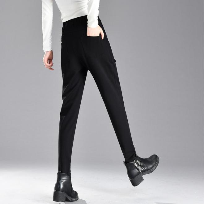 黑褲子扔了吧!凍腿又土,試試新上市加絨褲子,陪你度過整個冬天