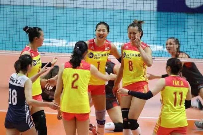 朱婷19分率中國女排3比0完勝美國奪複賽3連勝,提前鎖定世錦賽6強