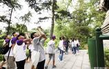北京大學的遊客!