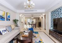 98平米簡美風格兩居,明快舒適的色彩打造精神世界的港灣