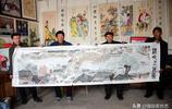 94歲農民畫家手繪《清明上河圖》,網友感嘆:畫得好大師都在民間
