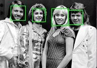Python25行代碼人臉識別