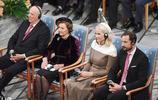 諾貝爾和平獎典禮在奧斯陸市政廳舉行
