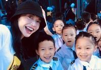甜馨幼兒園畢業禮,李小璐發佈女兒成長記錄照,卻裁掉了賈乃亮?