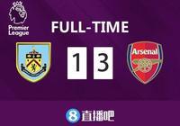 英超-奧巴梅揚梅開二度 阿森納3-1勝伯恩利鎖定第五