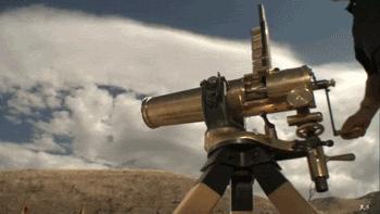 每日輕鬆一笑:加特林機關槍,爽!