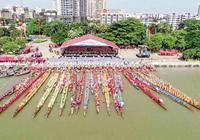 萬人空巷!東莞沙田舉行了一場特色傳統文化盛宴,現場超燃