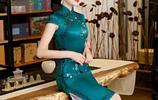 有一種美叫東方美,看下圖這些穿旗袍的女人,溫柔典雅實在迷人
