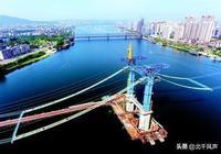 襄陽市龐公大橋:漢江首座懸索橋