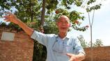 山西農村75歲老人耗時8年把1塊垃圾場建成小花園,看他生活成啥樣