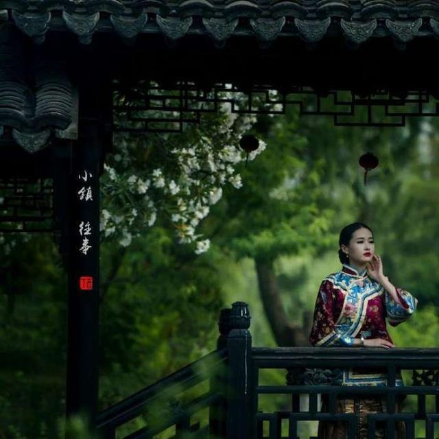 《暗香》中國風,喬立志旅拍作品鑑賞