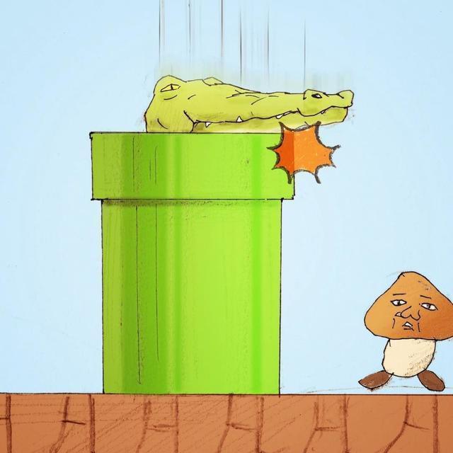 腦洞漫畫:鱷魚先生的22個悲劇日常,扎心了!