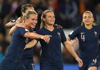 女足世界盃揭幕戰:法國4-0大勝韓國