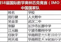 株洲伢子張騄入選58屆國際數學奧林匹克中國國家隊