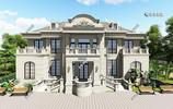 超霸氣的2層歐式別墅,挑空餐廳,5間臥室套房,四代同堂的大豪宅