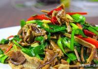 大廚教你做韭香茶樹菇,清淡又營養適合家常的簡單菜,越吃越香