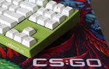 賽睿qck+ csgo鼠標墊與大L fc750r春季限定版