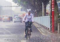 """暴雨時分的廣州:白雨跳珠亂入""""圖"""""""