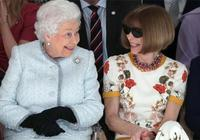 """是有多愛凹造型?面見英女王也不肯摘墨鏡,""""時尚女魔頭""""太倔了"""