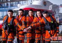 中國首部海上救援大片《緊急救援》開放媒體探班