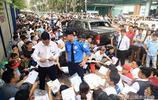 越南人十分嚮往發達國家韓國,每天河內當地韓國大使館都人山人海