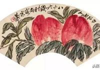 """齊白石的天價壽桃""""堪比王母娘娘的蟠桃了"""""""