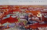 老照片:1910年代,日本發行的哈爾濱彩色明信片
