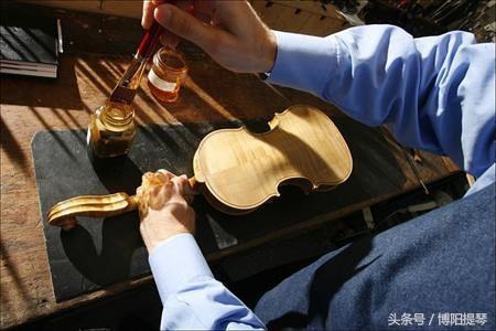 手工小提琴製作過程