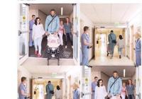 恭喜!JR接早產女兒回家 小傢伙出生時不到1斤