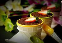 奶酪花盆蛋糕