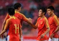 有希望!亞洲盃臨近,中國男足狀態爆發連進對手7球!