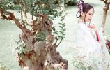 攝影:遊園裡令人驚豔的吹笛姑娘
