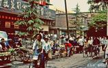 老照片:1988年的西安 那個沒有城管的西安