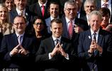 法國帥哥總統馬克龍會見奧委會評估委員會主席
