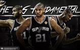 NBA超級球星壁紙系列——石佛 蒂姆 鄧肯(你離開了,卻散落四周)