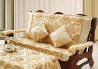 婆婆來家1天,沙發罩全部不見了,做法真高明,如今都流行這樣式