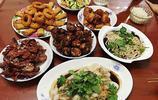 晚餐,小聚外甥家,6人7菜一湯,成本不超過100元,好吃到撐