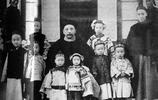 袁世凱家族罕見老照片,圖三他女兒顏值簡直逆天