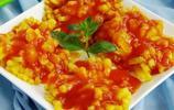冬瓜的創意做法——茄汁菊花冬瓜