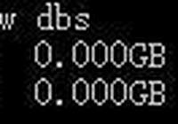 mongodb NOSQL數據庫操作