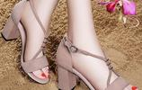 3月新上6款女士涼鞋,70後穿,洋氣顯高不磨腳,怎麼搭都好看