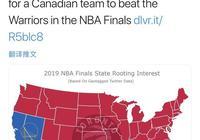 美國50個州的球迷有47個州支持猛龍擊敗勇士奪冠,你怎麼看這一情況?猛龍能奪冠嗎?