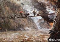 瀘定橋13根鐵鏈一萬多個鐵環40噸,在三百年前的條件下,如何建造?