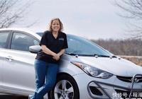 女司機5年跑了160萬公里,開爆了現代的里程錶,廠家直接送輛新車