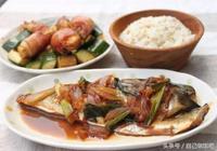 東北媳婦做的日式美食照燒鯖魚配飯吃超級美味