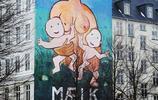 """丹麥哥本哈根的""""塗牆"""" 廣告"""