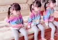 三胞胎女兒長得一模一樣,爸爸分不清楚,想了一個辦法,太聰明瞭